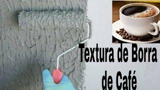 Textura feita com Borra de Café – Super Resistente