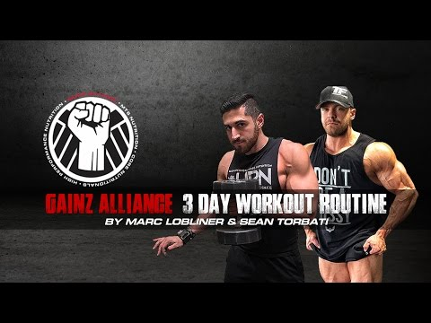 Best 3 Day Workout Routine | Tiger Fitness