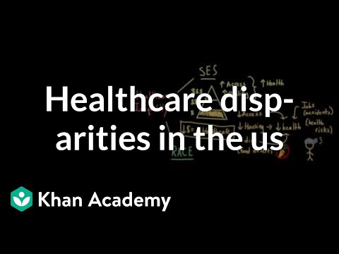 Health and healthcare disparities in the US | Social Inequality | MCAT | Khan Academy