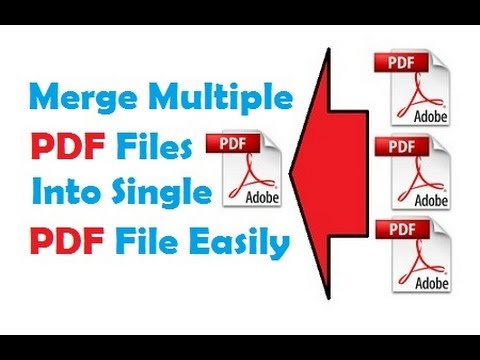 Merge Multiple Pdf Files Into One