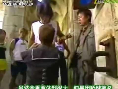 Yoon Eun Hye 윤은혜 & Shim Eun Jin 심은진 [Baby V.O.X] - Fort Boyard Adventure 2003