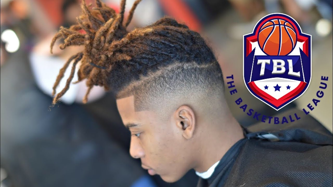 Freeform Dread Drop Fade Haircut Tutorial