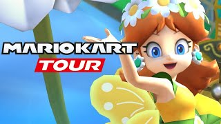 Mario Kart Tour - Part 46: ALL FLOWER TOUR CUPS! | Flower Tour (Android & IOS)