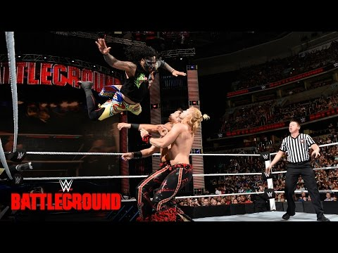 The Usos vs. Breezango: WWE Battleground 2016...