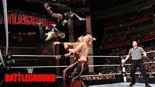 The Usos vs. Breezango: WWE Battleground 2016 Kickoff Match on WWE Network