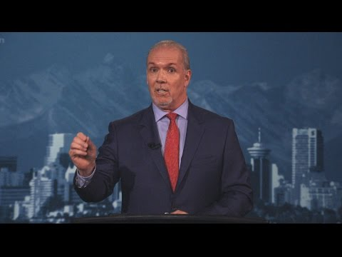 B.C. NDP Leader John Horgan takes audience questions