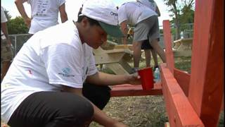 Zimmerman & Omnicom 2011 Boys & Girls Club Carver Ranches Service Project