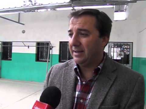 Intendente Esteban Avilés en la escuela Mariette Lydis - Parte dos