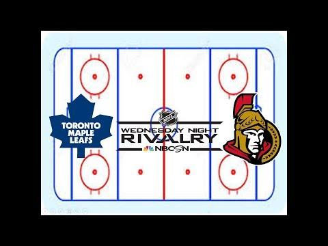 NHL 17  Ottawa Senators vs Toronto Maple Leafs + Bonus Shootouts