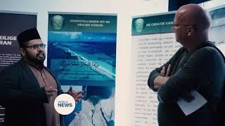 Majlis Ansarullah Quran exhibition Sint Truiden