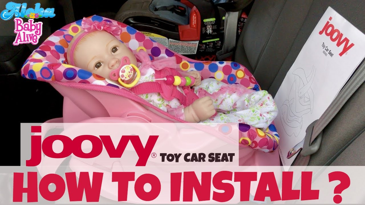 How To Install Joovy Toy Car Seat In Your Two Methods Very Easy
