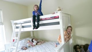 Secret Bunk Bed SURPRISE!🤗