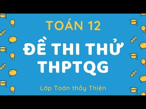 TOÁN 12 - Chữa chi tiết - Đề thi thử THPTQG 2021 - THPT Quảng Xương 1 (Lần 2)