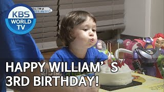 Happy William's 3rd birthday! [The Return of Superman/2019.07.28]