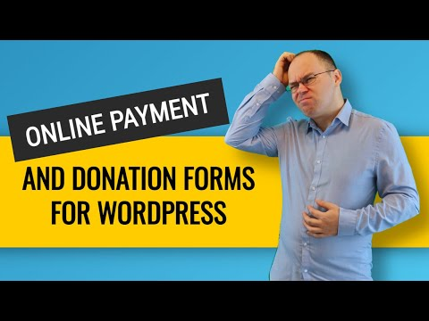 How to Create Wordpress Online Payment Form and Donation Form?