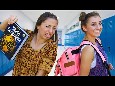 Reality of the 1st Day of School | Brooklyn and Bailey