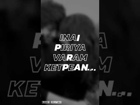 Inai Piriya Varam Ketpean Album Song ( Whatsapp Status)