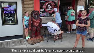 Wnc Bigfoot Festival A Big Hit In Mcdowell County