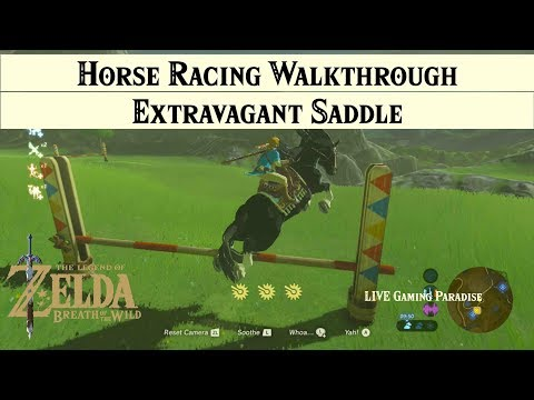 Breath of the Wild | Extravagant Saddle - Horse Obstacle Racing [Main] Side Mission