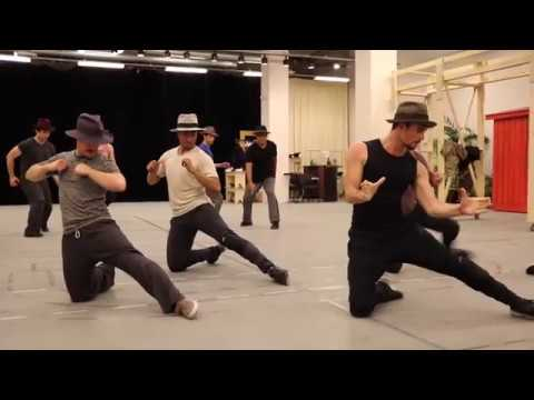 """""""The Crapshooter's Dance"""" - Guys and Dolls at The Old Globe"""