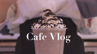 Eng)cafe vlog|카페 알바 브이로그|카페 알바|카페 브이로그|vlog|알바 브이로그|asmr|korean vlog|korean cafe|음료 제조|브이로그|잠안올때|힐링