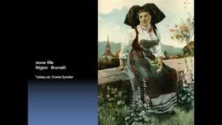 Les costumes Alsaciens  Alsace -    -  France