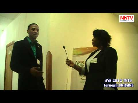 Delegates Speak@African Youth Summit _AYS 2012_Ternopil UKRAINE