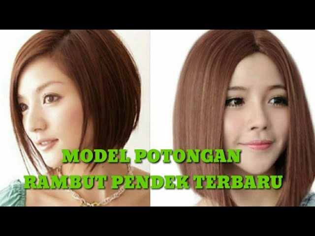 Super Bob Haircut Style Potongan Rambut Model Bob 2020 Youtube