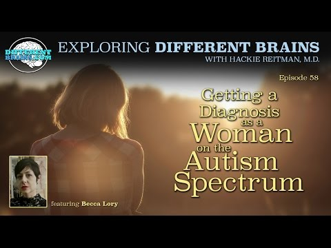 Getting a Diagnosis as a Woman on the Autism Spectrum, with Becca Lory | EDB 58