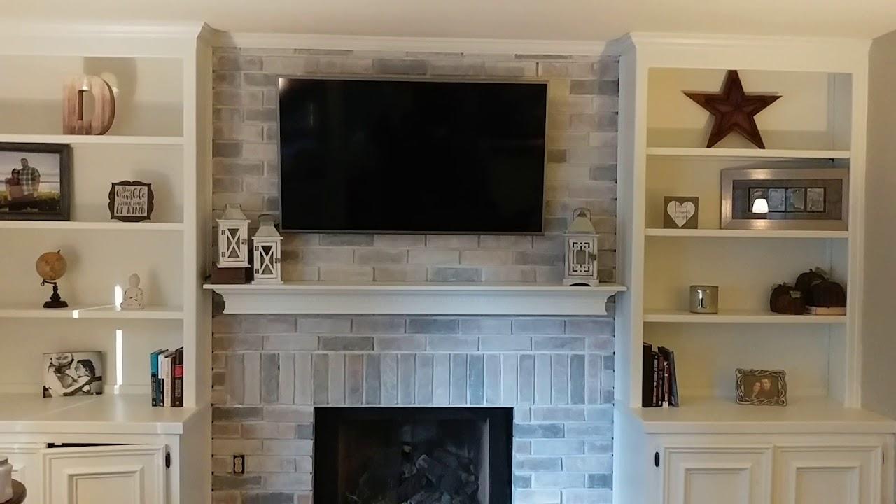 Diy Fireplace Brick