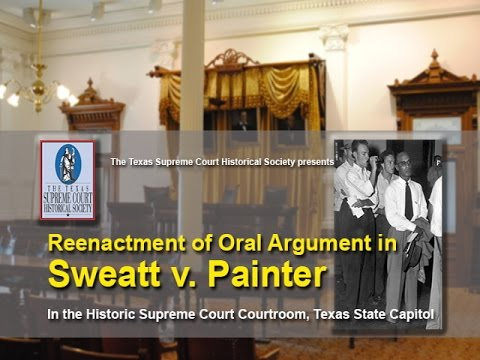 Reenactment of Sweatt v. Painter