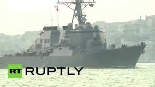 Turkey: Aegis-equipped USS Donald Cook enters Black Sea