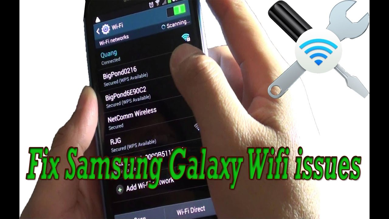 Fix samsung galaxy S3/S4/S5/S6/J5/J7 WiFi issues #Problems