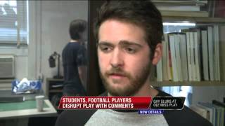 """Ole Miss Football Players Heckle Performers In """"Gay"""" Pla"""