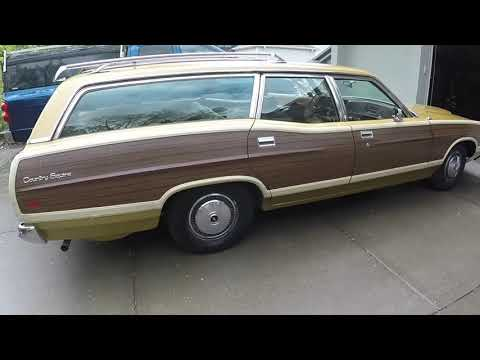 Drive to Madison, WI. to check out a unrestored 1972 Ford Country Squire