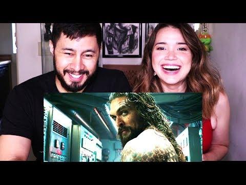 AQUAMAN   Comic-Con 2018   Trailer Reaction!