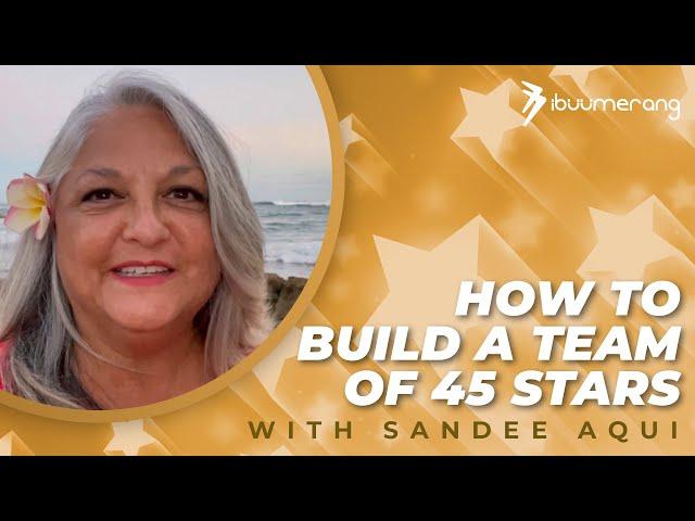 Star Achiever Interview Series— Sandee Aqui