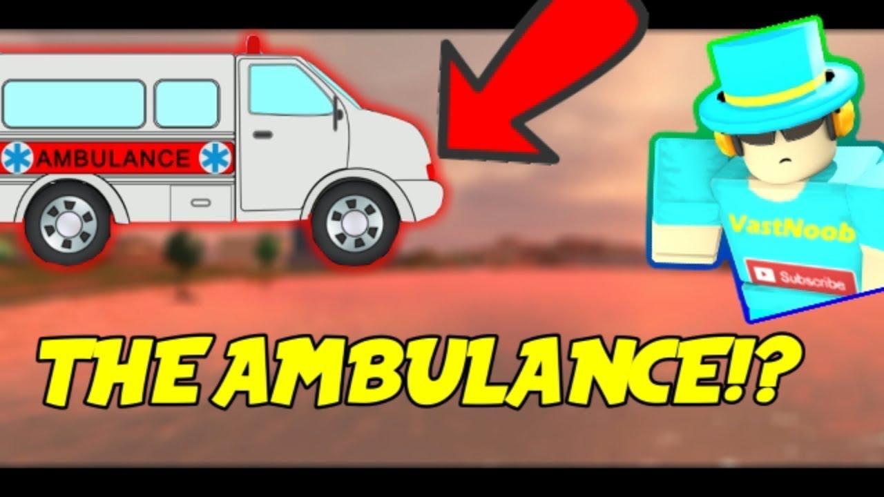 Buying The New Ambulance Roblox Jailbreak Youtube