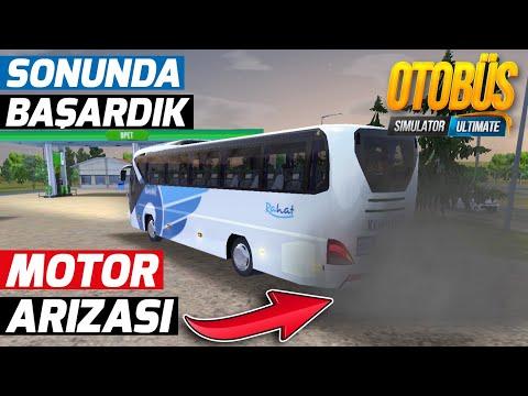 OTOBÜS DUMAN DUMANA GİDİYOR // MOTOR ARIZASI | OTOBÜS SIMULATOR ULTIMATE !!