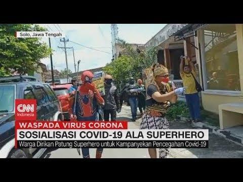 Sosialisasi Covid 19 Ala Superhero Youtube