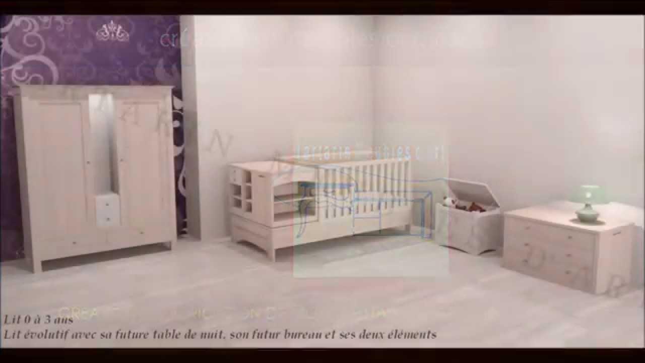 Lit bb volutif aubert amenagement petite chambre bebe lit for Chambre bb aubert