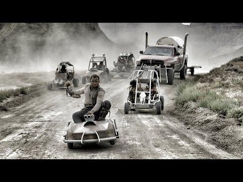 Mad Max GoKart Paintball War - 4K!