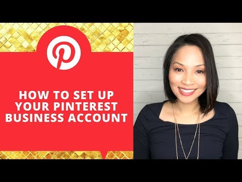 Pinterest business account set up | Pinterest for business