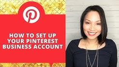 Pinterest business account set up   Pinterest for business