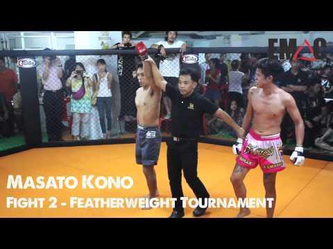 Masato Kono (EMAC Thailand) @ War in the Cage 4