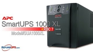 rbc7 battery replacement for apc smartups 1000 xl