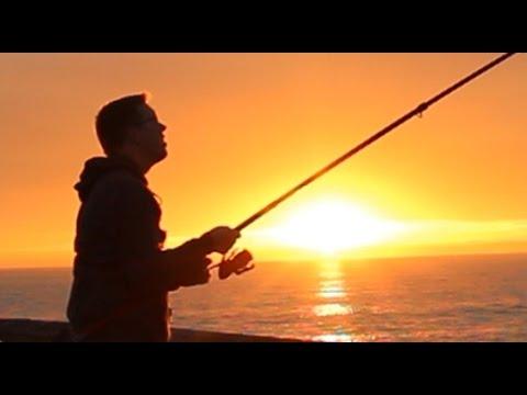 Pier Fishing Venice Beach - Fishing For White Croaker, Skate And Eel