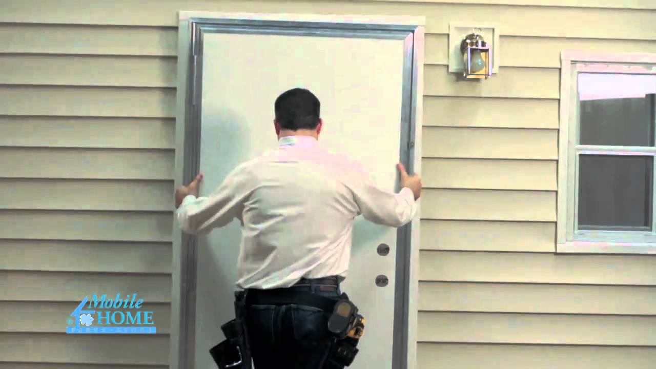 Diy out swing exterior door mobile home parts store - How to install a prehung exterior door ...