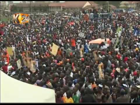NASA holds its official campaign rally at Jacaranda grounds in Nairobi