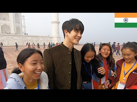 this-was-unexpected-in-taj-mahal!!-|-korean-dost-vlog